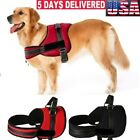 No Pull Dog Vest Soft Reflective Harness for Extra Big Large Medium dog Black US