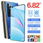 """6.82"""" Android 10.1 Smartphone 2021 Unlocked Mobile Smart Phone Dual Sim 10 Core"""