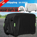 Waterproof Golf Cart Cover Zipper 4 Passenger For EZ-GO Club Car Yamaha Outd-oor
