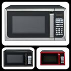 Hamilton Beach 900W 0.9 Cu. Ft. Counter-Top Microwave Oven, Stainless Steel