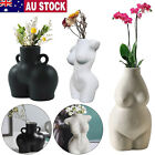 Female Body Vase Nude Ceramic Art Tabletop Flower Pot Nordic Modern Home Decor