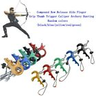 Compound Bow Release Aids 3 4 Finger Grip Thumb Trigger Caliper Archery Hunting