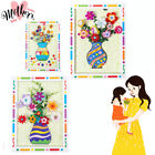 Blessing Mother's Day Present Material Greeting Cards Button Bouquet