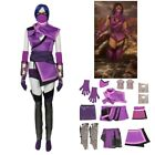 Mortal Kombat 11 Mileena Cosplay Costume Halloween Suit Outfit Full Set