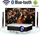 EUG LED Smart Projector Android 6.0 WiFi 1080P Proyector Blue-tooth Airplay US