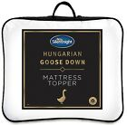 Silentnight Mattress Topper Hungarian Feather Goose Down Luxury Hotel Quality