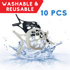 10 Pcs Face Bracket for Mask 3D Silicone Frame Reusable Inner Support Breathable