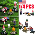 Naughty Gnome Statue Garden Outdoor Decoration Diy Resin Ornaments Funny Us