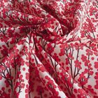 Red Berries Printed 100% Cotton Woven Fabric 150cm wide Branch Print