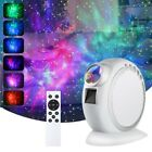 LED Galaxy Starry Night Lamp Projector Ocean Star Sky Party Speaker Light Remote