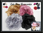 Large 16cm Soft Silk Rose Flower Corsage Hair Fascinator Clip or Brooch Pin NEW