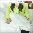 Kensingtons 400T/C Luxurious Natural Silk Microfibre Filled Double Bed Duvet