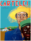 "466.Cuba poster""Cuban Quality Design American Farmers.Both Flags""COOL!"