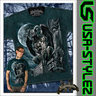 NIGHTSHADE® GOTHIC T-SHIRT WATCHING WAITING M L XL XXL