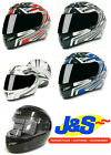 RST FUSION MOTORCYCLE MOTORBIKE FULL FACE CRASH HELMET LID HAT 5 COLOURS