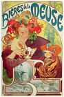 2599.Meuse Beer art Nouveau quality POSTER.Home decor interior room design