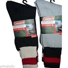 3pk Coleman Mens Heavy Weight Boot Length Cotton Socks  Size 10-13 Color Choice