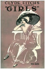 "3048.Clyde Fitch's greatest comedy""Girls""POSTER.Theater.Home bedroom decor art"