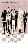 3163.Cuba Cinematheque.Shakespeare cycle on film Chess POSTER. Decorative Art