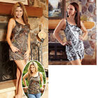 Tank Top, Shorts or Tank Top/Short Set in Camouflage patterns.