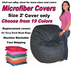 Bean Bag Chair Cover Factory Direct Cozy Sack Store fits 2' Beanbag Chair
