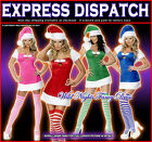 CHRISTMAS FANCY DRESS # LADIES SEXY SANTA CHRISTMAS PRESENT