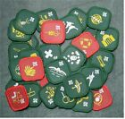 UK United Kingdom 90's Scout Proficiency Award Badge Patch - 27 Different Badges