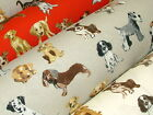Prestigious Hot Dogs Dog Designer Curtain Upholstery Designer Fabric - 3 Colours