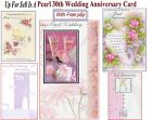 Pearl 30th Wedding Anniversary Card 30 Years Buyer Pick Your Design Cute Classic