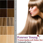 "Double Weft All Colours Full Head Human Hair Extension 16"" 18"" 20"" 22"""