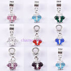 10pcs/20pcs Rhionestone Butterfly Charm Pendants 8 Colours C4274 Free Shipping