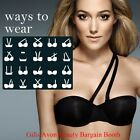 AVON'S  FIRST 101 WAYS TO WEAR CONVERTIBLE - MULTIWAY BRA  IN * BLACK