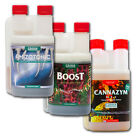 Canna Boost Cannazym Rhizotonic Nutrients 250mL 1L Liter Additive Combo Bundle