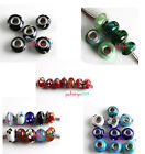 MIXED STYLES Lampwork Beads Fit European beaded Charms Bracelets Pick