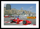 Michael Schumacher 2005 Monaco Grand Prix Formula One Photo Memorabilia (4535)