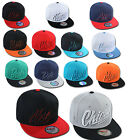"STAR CAP NEW SNAPBACK CAP "" CITY "" ERA WOW 2TONE CAPS TRUCKER KAPPE HUT"
