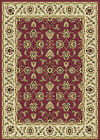 BURGUNDY IVORY BEIGE GREEN PERSIAN AREA RUG TRADITIONAL ORIENTAL FLORAL CARPET