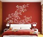 Wall Decor Decal Sticker Removable vinyl branche flowers LARGE Graceful Peony XL