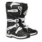 New Alpinestars Tech 3 Motocross Mx Dirtbike Offroad Boots Black / White All Sizes