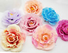 """3.5"""" Blooming Flower Brooch Pins Hair Clips Accessory Fabric Silky Boutique"""