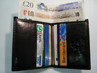 Top Quality Leather Credit Card Holder with Paper Money Slot VISCONTI, BOXED