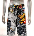 "z2 Minute Mirth Shorts Sz 32"" 34"" 36"" 38"" Swimwear Street Skate Punk Tattoo Surf"