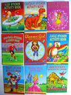 THEMED STICKER ACTIVITY BOOKS (Party/Loot Bag/Stocking Fillers)(Christmas/Xmas)