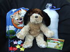 """Build Your Own Bear Party Kit - Make a 16"""" Puppy - No Sew Ready to Stuff"""