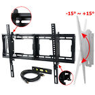 "Tilt Flat TV Wall Mount 32 40 50 55 60 65 LCD Plasma 70 75"" LED HDTV Bracket BG3"
