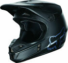 NEW FOX RACING V1 MATTE BLACK MOTOCROSS MX DIRTBIKE HELMET BLK ALL SIZES