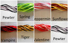 Satin Variegated  2 mm rattail cord hand dyed for jewelry macrame 10 yards yds m
