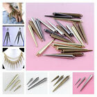 Punk Gothic CCB Metal Pick Size Rivet Spike Beads Jewelry Makings Findings DIY