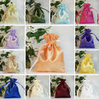 240 pcs 3x3.5 inch SATIN Drawstring FAVOR BAGS - Wedding Gift Pouches Packaging