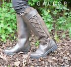 GATELEY LONG LEATHER COUNTRY YARD / RIDING BOOT medium or wide fit  ALL SIZES